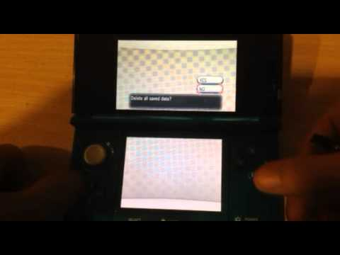 How to Reset Pokémon X and Y Game File