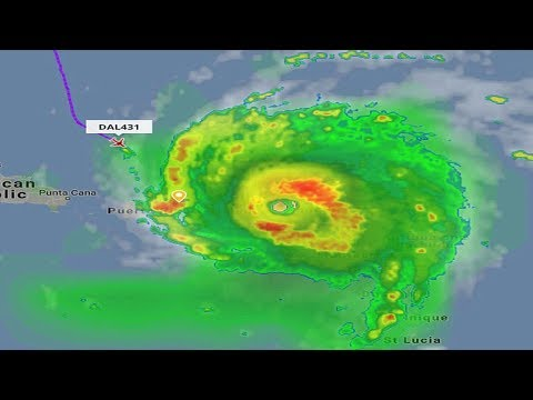 Delta dodges Irma: Quick-thinking flight crew flies right into hurricane in Puerto Rico