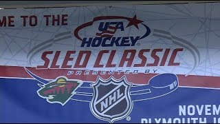 Plymouth welcomes USA Sled Hockey Classic