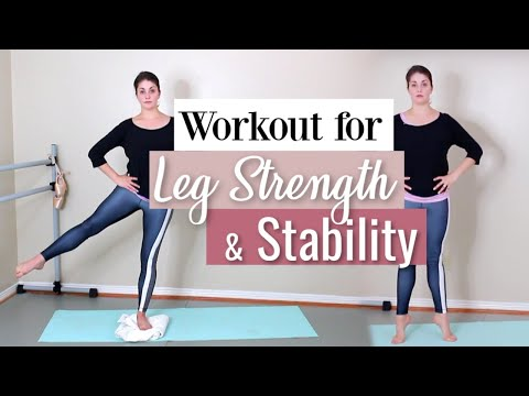 Workout for Leg Strength & Stability | Kathryn Morgan