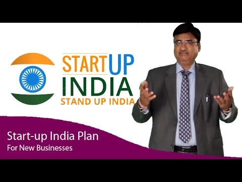 Start-up India Plan For New Businesses - Make In India campaign