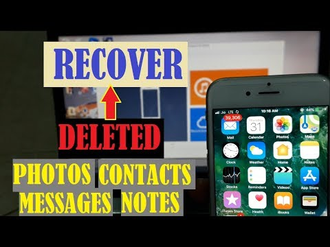 HOW TO RECOVER DELETED FILES FROM IPHONE ITUNES OR ICLOUD