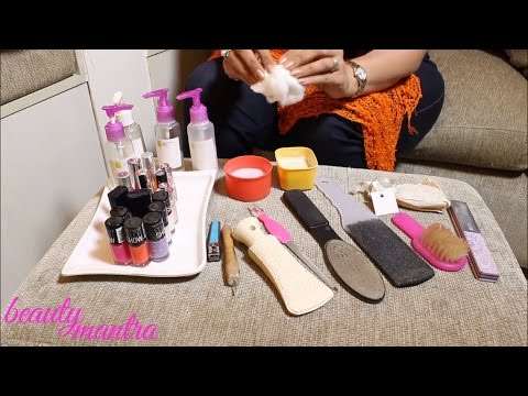 Spa Pedicure - How To Do at Home - Step by Step Tutorial