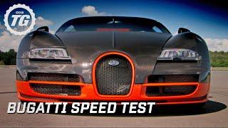 Bugatti Super Sport Speed Test - Top Gear - BBC