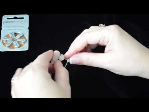 How to Change Your Hearing Aid Batteries