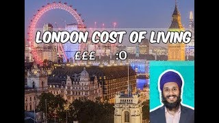 London Cost Of Living 2018