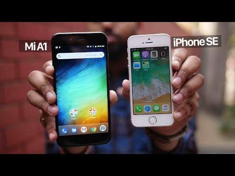 Mi A1 vs iPhone SE: The Best Budget Smartphone?