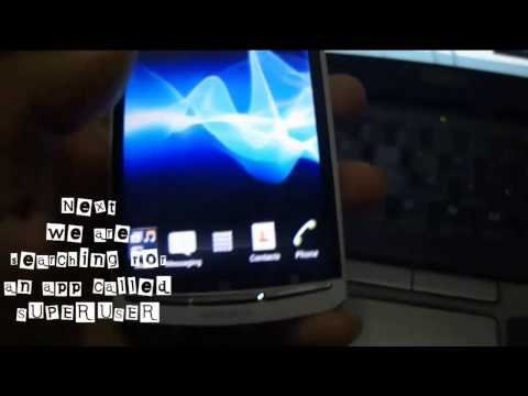 How to Flash Update, Root and Installing Khmer Font for Sony xperia Arc S [Full Khmer Version] HD