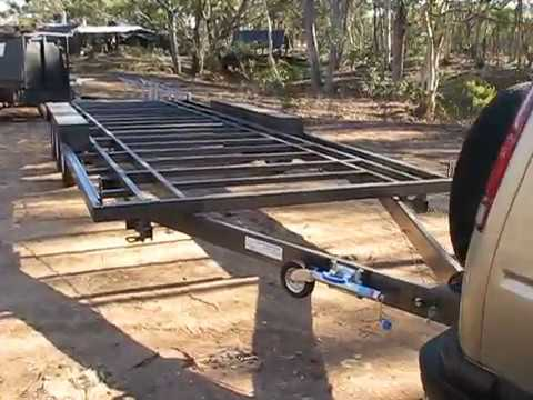 Off the Grid  in OZ Tiny house's ...  super wide Trailer!!