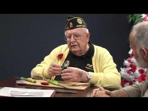 DISCOVERQA_Veteran makes Red Poppy Flowers