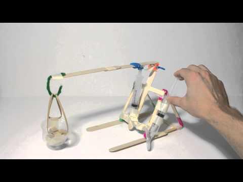 Pneumatic machine - simple and fun design