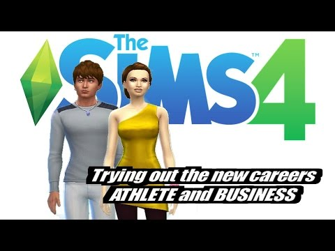 Sims 4: New Careers (Business & Athlete). EP1