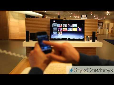 Sony Bravia Internet TV iPhone app