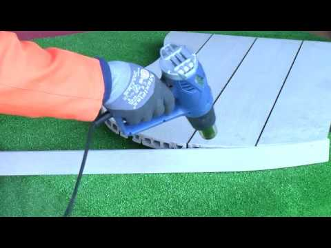 How To Fix Decking On a Curved Surface