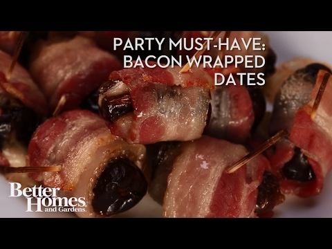 Party Must-Have: Bacon-Wrapped Dates
