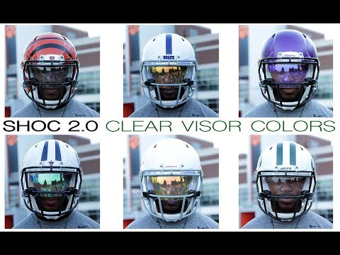 SO MANY OPTIONS!! SHOC 2.0 Clear Visors