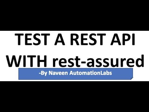 API Automation using Rest Assured - BDD Framework
