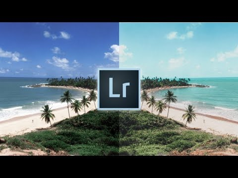 How to Edit TROPICAL Beach Photos Lightroom Editing Tutorial For Instagram 🏝