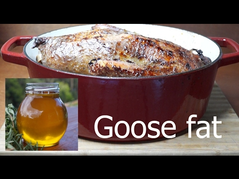 How to make goose / duck fat