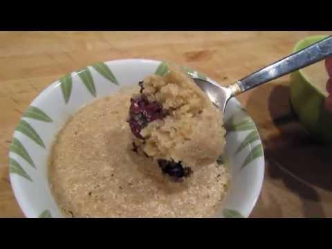 Micro-Chocolate Chip Blondie| Dessert in 5 minutes!