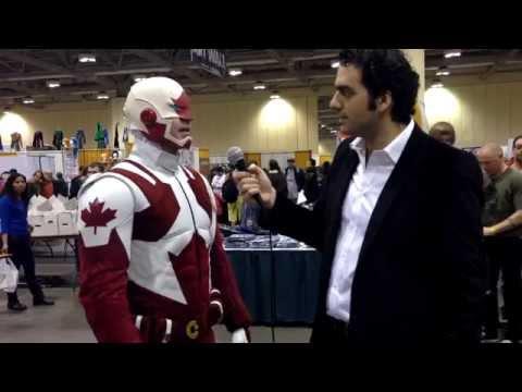 Toronto Comicon 2014 Interviews: Captain Canuck
