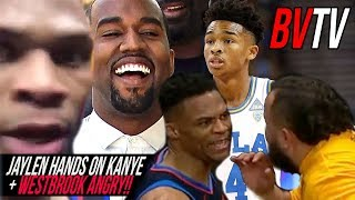 Jaylen Hands Talks New KANYE SONG, Russell Westbrook SNAPS on Fan AGAIN & Calling A BIG BALLER! BVTV