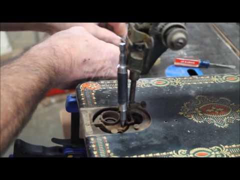 Breaking Loose Stubborn Screws in Rusty Old Sewing Machines