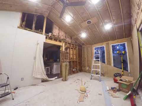 Sunroom Drywall