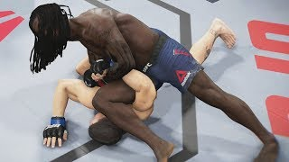 UFC 3 Ultimate Team - Moses Fast Submission! EA Sports UFC 3 Gameplay PS4
