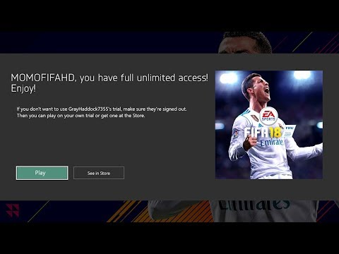 HOW TO EXTEND YOUR EA ACCESS & PLAY UNLIMITED FIFA 18 (GLITCH)