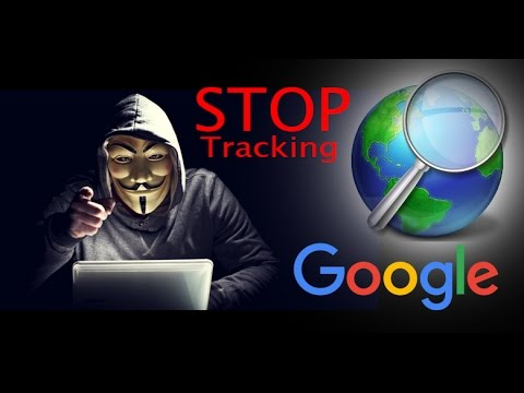 Hide your activities from google   Stop tracking