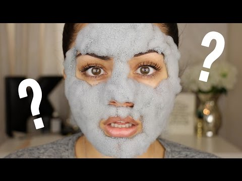 Bubble Clay Mask?! DOES IT WORK?!