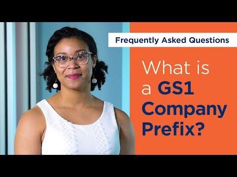 What is a GS1 Company Prefix?