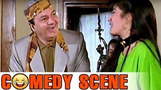 Prem Chopra Scene | Comedy Scene | Saajan Ki Baahon Mein | Rishi Kapoor, Raveena Tandon | HD