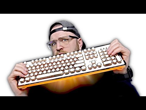 Is This The Coolest Keyboard Yet?