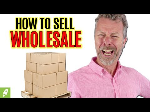 HOW TO SELL WHOLESALE PRODUCTS ON AMAZON