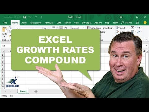 Learn Excel from MrExcel Episode 908 - Compound Growth Rates