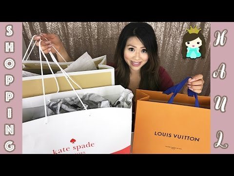 Luxury Designer Brand Shopping Huge Haul Deals:  Louis Vuitton Michael Kors Kate Spade