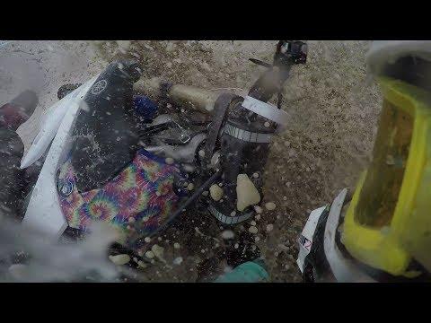 crazy dirt bike crash