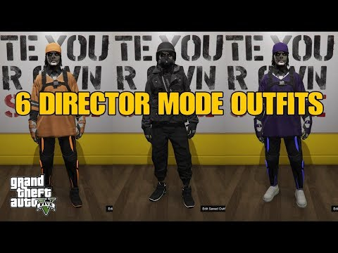 GTA V ONLINE 6 DM OUTFITS+WRITTEN COMPONENTS 👕