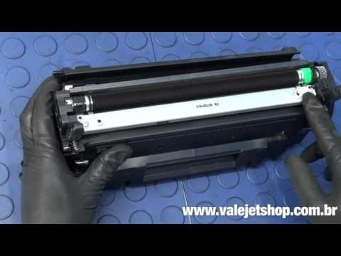 Vídeo Recarga Toner HP CE255A   55A   P3010   P3015 - Vídeo Aula Valejet.com