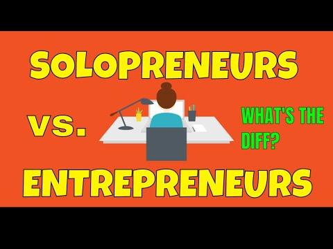Solopreneurs vs. Entrepreneurs | Does Solopreneurship Have a Negative Connotation?