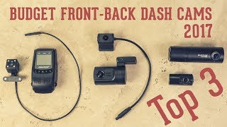 Top 3 Budget Front & Back Dash Cameras (Dual Channel Cams)