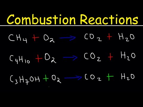 Balancing Combustion Reactions Examples, Chemistry Problems, Hydrocarbons, Alkanes, & Alcohols