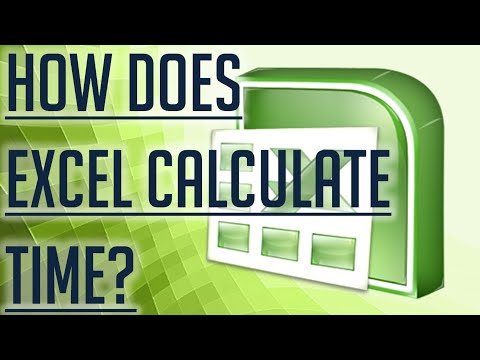 [Free Excel Tutorial] HOW DOES EXCEL CALCULATE TIME? - Full HD