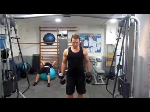 Female Lean Body Workout   - Leg, Shoulders and Tricep Workout