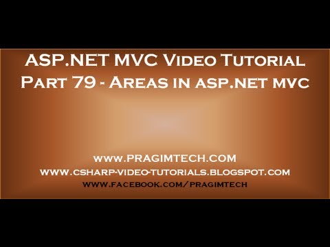 Part 79   Areas in asp net mvc