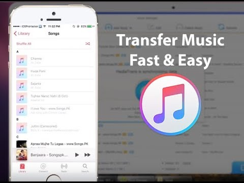 How to Transfer Music from Laptop to iPhone X/8/7/6/5! Import Songs Without iTunes