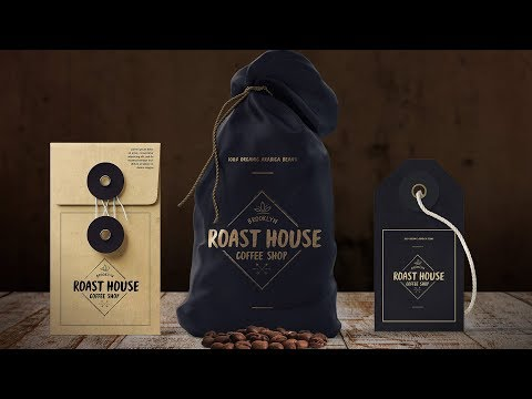 How to Create a Coffee Shop Branding in Illustrator and Photoshop
