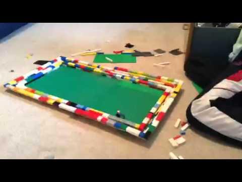 Lego football stadium build (part 1)